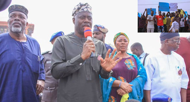 I Take Responsibility For Oyo Market Fire, Says Makinde