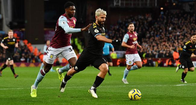 Man City Thrash Villa 6-1, Move To Second On Premier League Table