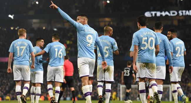 Gabriel Jesus Stars As Man City Beat Everton