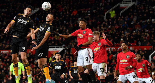 Man Utd Beat Wolves To Reach FA Cup Fourth Round