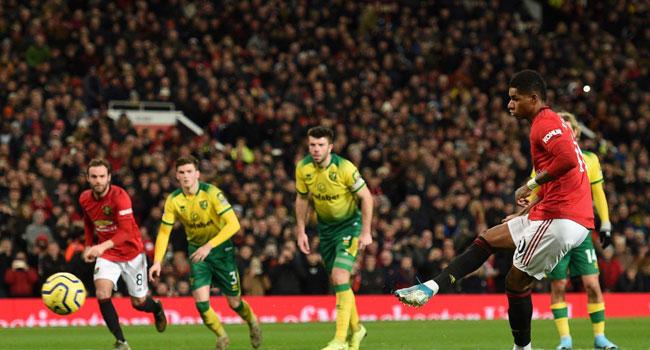 Solskjaer Hails Rashford After United Thrash Norwich