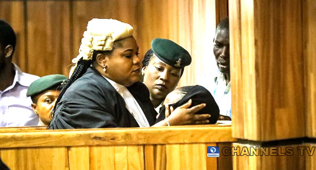 PHOTOS: Maryam Sanda Weeps Uncontrollably After Being Convicted