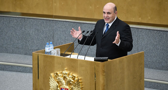Russian New PM Promises 'Real Changes' For Citizens