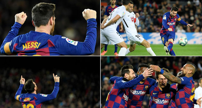 Relief For Barca As Messi Ensures Setien Enjoys Winning Start