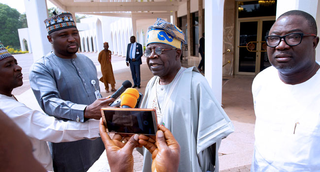 Third Term Agenda: Buhari Has The Courage To Refuse Such A Temptation – Tinubu