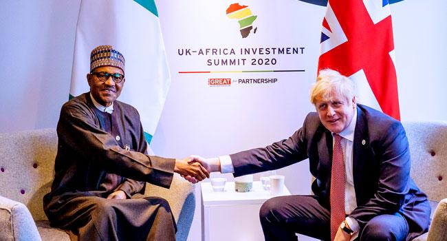 Buhari, British PM Discuss Security, Anti-Corruption War, Others