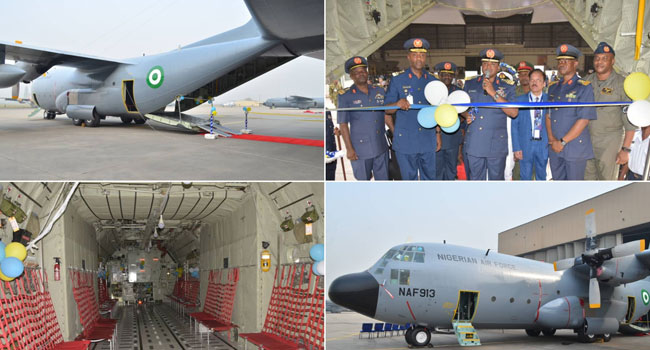 NAF Commissions Another Combat Aircraft, Inducts Additional Vehicles For Base Defence