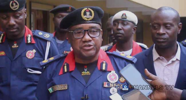 Stop Moving With Cash, NSCDC Warns Travellers