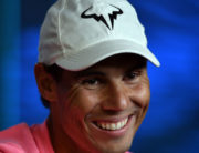 Spain's Rafael Nadal speaks at a press conference ahead of the Australia Open tennis tournament in Melbourne on January 18, 2020. Manan VATSYAYANA / AFP