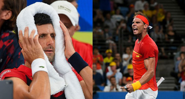 Nadal's Spain To Meet Djokovic's Serbia In ATP Cup Final