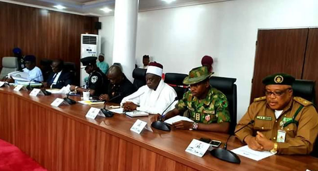 Nasarawa State Government Holds Expanded Security Meeting