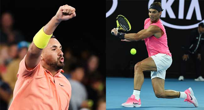 Australian Open: Nadal, Kyrgios Progress Despite Weather Challenge