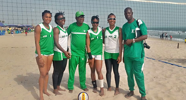 Nigeria In Final Round Of Olympics Qualifiers For Beach Volleyball