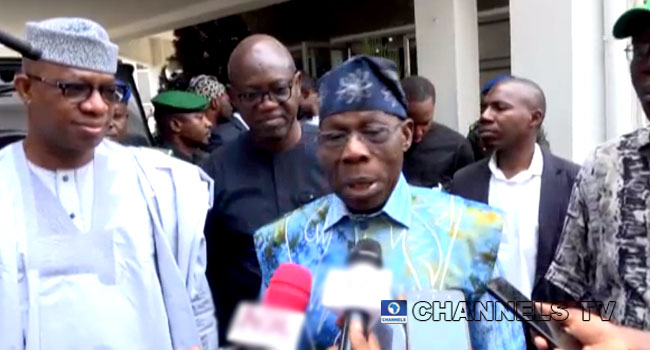 Obasanjo Holds Talks With Gov Abiodun On Ogun Development
