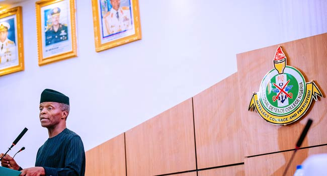 Why State Governments Are Not Self-Sufficient – Osinbajo