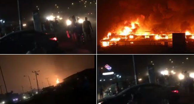 Five Confirmed Killed In Abule Egba Pipeline Explosion
