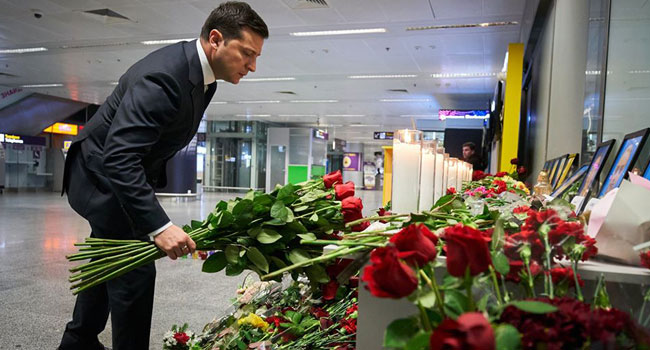 Ukraine Demands Apology, Punishment, Compensation For Plane Downed By Iran