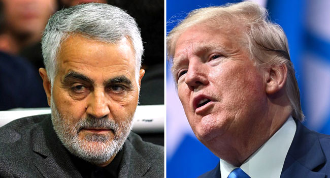 Soleimani Killing: Trump Vows '1,000 Times Greater' Response To Any Iran Attack