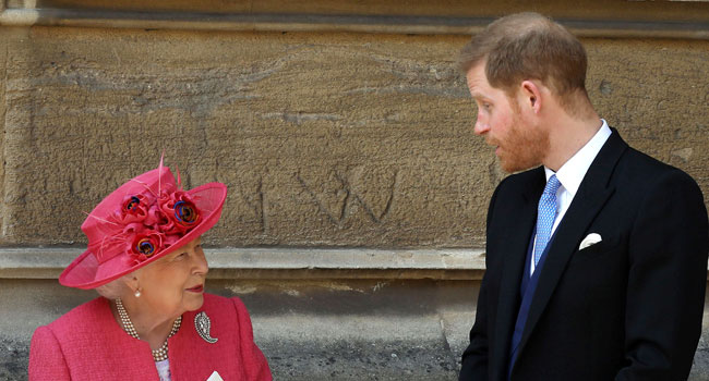 Queen Elizabeth, Prince Harry Hold Crisis Meeting