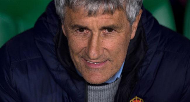Barcelona's Coach Setien Begins Training After Valverde Sack