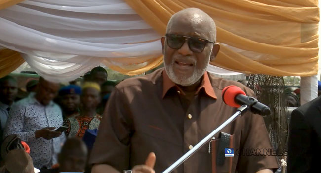 Amotekun: Laws Are Not Made In AGF's Office, Akeredolu Replies Malami
