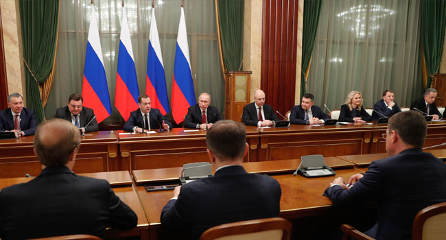 Russian PM Resigns Over Constitutional Reform Calls