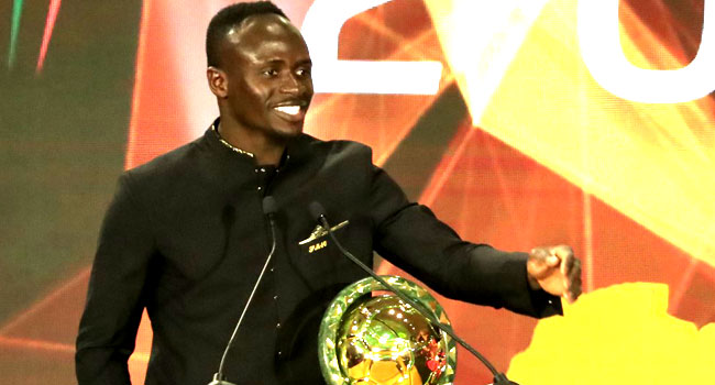 Sadio Mane Crowned African Player Of The Year