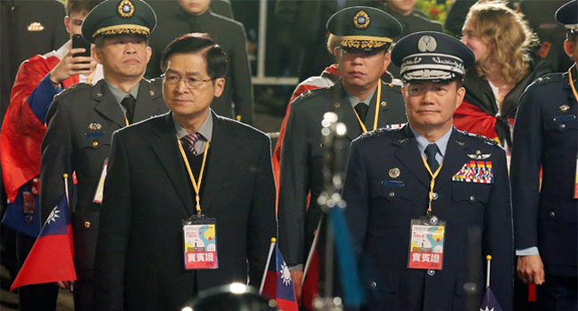 Taiwan Loses Chief Of General Staff In Chopper Crash