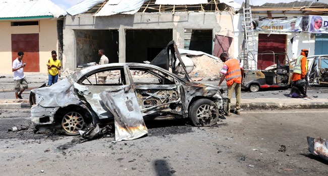 Govt Official, Three Others Killed In Somalia Car Bombing