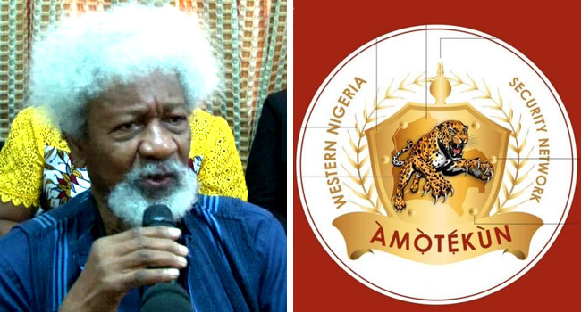 Amotekun Is A 'Pleasant New Year Gift' – Soyinka