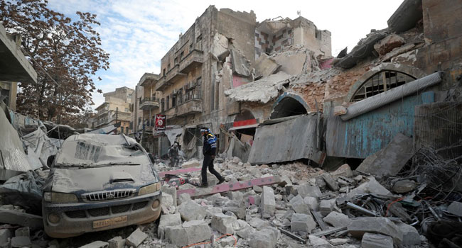 39 Killed As Govt Forces, Jihadists Clash In Syria