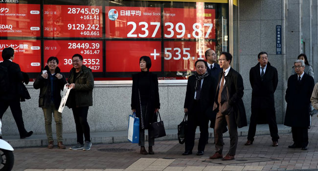 Tokyo Stocks Close Higher As Iran Worries Ease