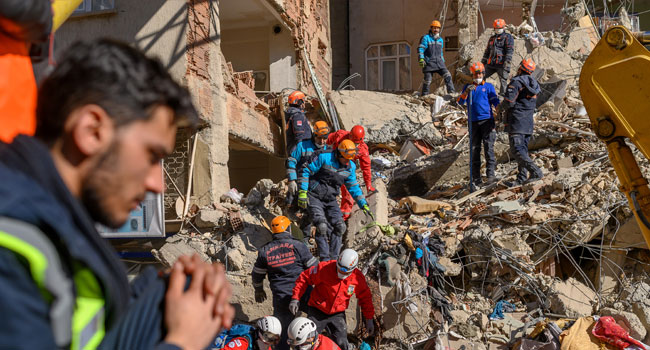 Rescue Operations Intensify As Turkey Quake Death Toll Rise To 29