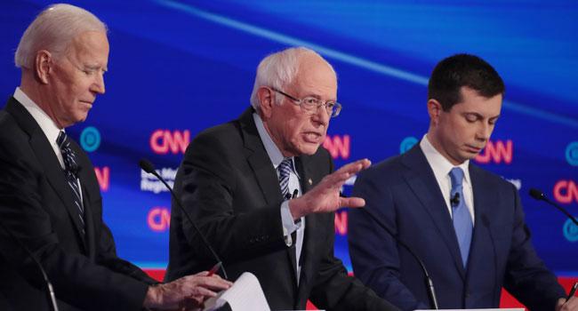 US Democrats Lock Horns Over War, Gender In Last Debate