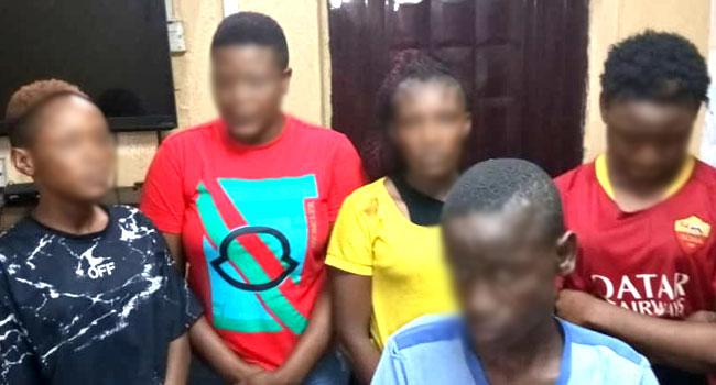 Police Arrest Five Suspects Over Female Underwear Theft
