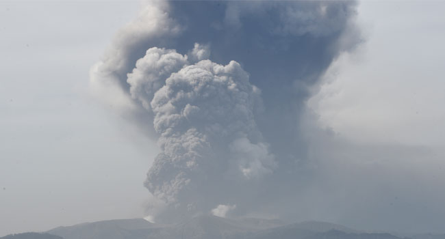 Volcano Threatens Schools, Businesses In Philippines