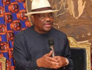 A file photo of Rivers state Governor, Nyesom Wike.