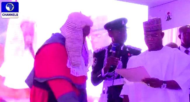 Yahaya Bello Sworn In For Second Term