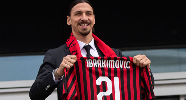 Ibrahimovic Extends AC Milan Contract For 2020/21 Season
