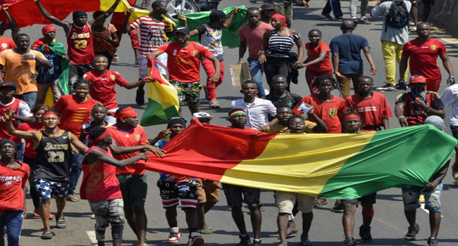 Guinea Opposition Suspends Anti-Government Protests