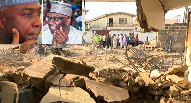 Ile Arugbo: Court Strikes Out Saraki's Suit Challenging Demolition