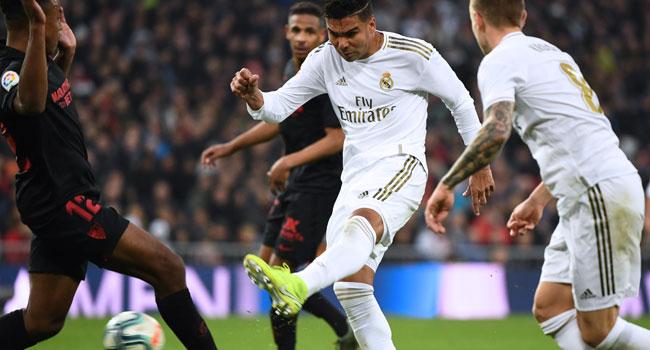 Madrid Go Top Of La Liga After Sevilla Win