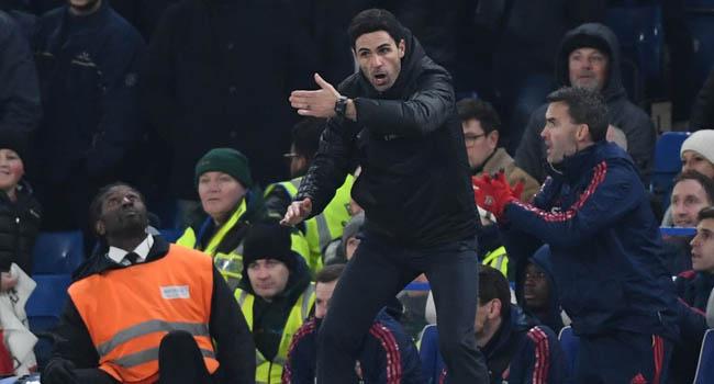 Arteta Hopes 10-Man Arsenal's Grit Points To Brighter Future