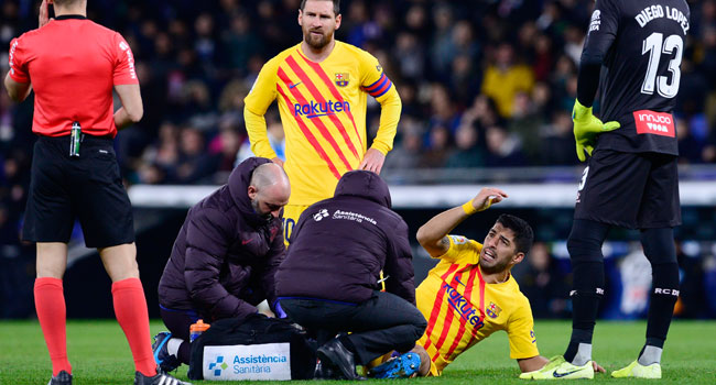 LaLiga: Barcelona striker suffer major injury blow, heads to surgery
