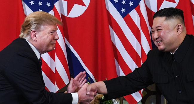 Seoul Says Trump Sent Birthday Greetings To N. Korea's Kim