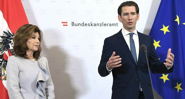 Sebastian Kurz Sworn In As World's Youngest Chancellor