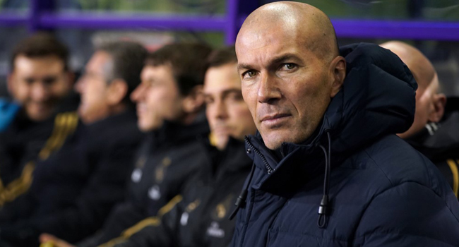 Zidane Tells Real Madrid To Adopt World Cup Mentality For La Liga Finish