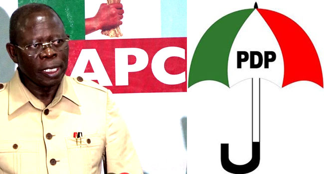 Bayelsa Election: Be Careful Of Your Utterances, PDP Warns Oshiomhole