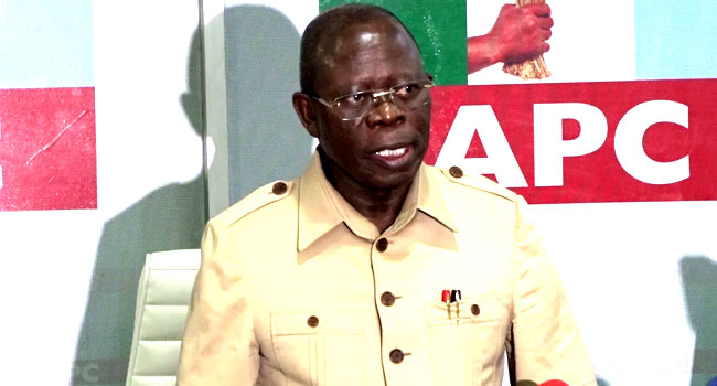 Court To Hear Oshiomhole's Appeal Challenging His Suspension