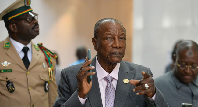 Guinea's Conde Leaves Door Open To Running For Third Term